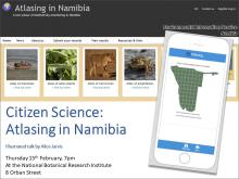 Presentation on Atlasing in Namibia website and App